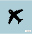 plane icon plane icon eps10 plane icon plane vector image vector image
