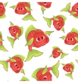 Red fish seamless vector image vector image