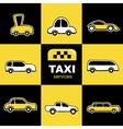 Taxi service vector image vector image
