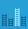 unique success ladder vector image
