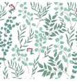 antique floral seamless pattern with beautiful vector image