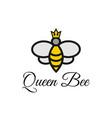 bee honey graphic design template vector image