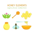honey set Bee design Cartoon vector image