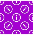 info web icon flat design Seamless pattern vector image