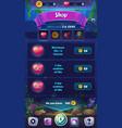 mobile format shop screen mahjong fish vector image vector image