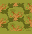 oak forest seamless pattern large old wood texture vector image vector image