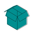 open box icon image vector image vector image