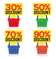 Set Of Shopping Basket Discount