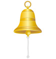 ship bell vector image vector image