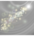 Abstract Light Grey Wave Background vector image vector image