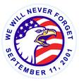 american bald eagle 911 vector image