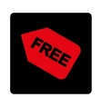 Free sticker icon vector image