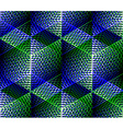 Geometric seamless pattern endless colorful vector image vector image