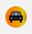 icons at the taxi bus vector image vector image