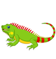 Cartoon cute Chameleon vector image vector image