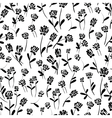 floral decorative seamless pattern vector image vector image