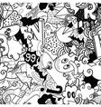 Graffiti colorful seamless pattern vector image