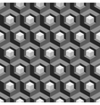 Honeycomb background 3d Mosaic vector image vector image