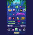 mahjong fish world mobile vector image vector image