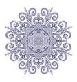 new round mandala-01 vector image vector image