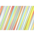 Pastel stripes abstract background vector image vector image