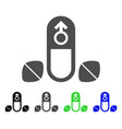 penis potency tablets icon vector image vector image