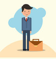 people business office vector image vector image