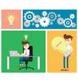 Start up business concept design vector image vector image