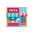 toy shop vector image vector image