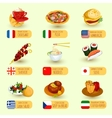 World Food Set vector image