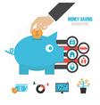209money saving info vector image vector image