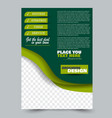 Abstract flyer design background brochure