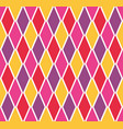 colorful argyle harlequin seamless pattern vector image vector image