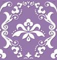 damask royal seamless textile pattern vector image vector image