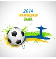 FIFA World Cup background vector image vector image