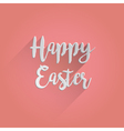 Happy Easter Lettering Design vector image vector image