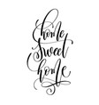 home sweet home - hand lettering inscription text vector image