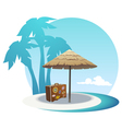 Island coast vector | Price: 3 Credits (USD $3)