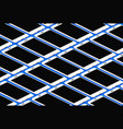 isometric phones pattern mockup vector image