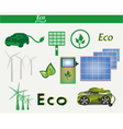 set eco vector image