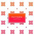 vibrant flower pattern background vector image vector image
