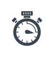 campaign timing glyph icon vector image