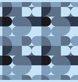 circle squares irregular seamless pattern vector image