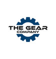 gear graphic design template vector image vector image