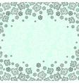 Winter snowflakes design vector image