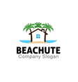 Beach Hut Design vector image