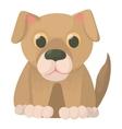 Dog icon cartoon style vector image