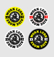 enduro or motocross logo vector image
