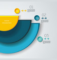 global social media concept vector image vector image