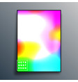gradient texture background design for poster vector image vector image